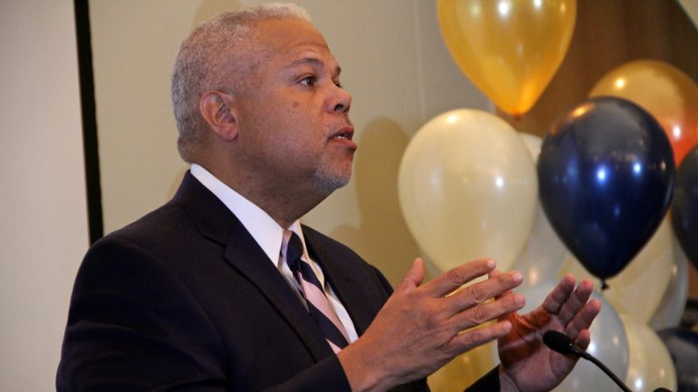 Ads supporting state Sen. Anthony Williams in the Philadelphia mayoral campaign will begin Friday. The Susquehanna International Group is helping bankroll the $500,000 television ad buy. (NewsWorks file photo)