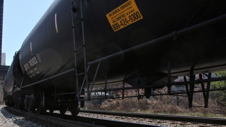 Lawmakers are considering a bill to mandate disclosures on oil trains in New Jersey. (NewsWorks file photo)