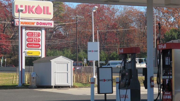 Holiday travelers may decide to wait for a fill-up until they reach New Jersey. Even with the 23-cent tax increase