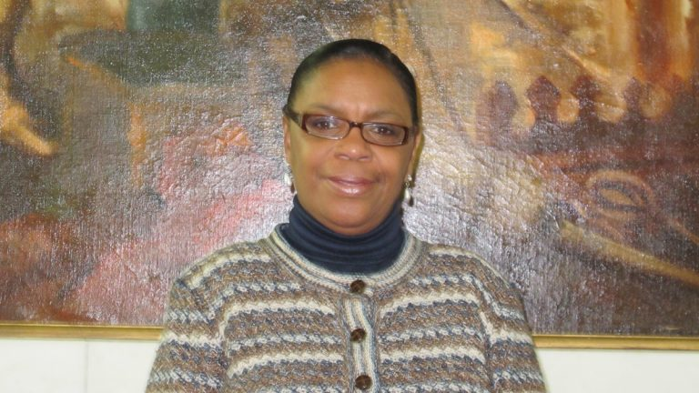 Trenton City Councilwoman Phyllis Holly-Ward (Phil Gregory/for NewsWorks)