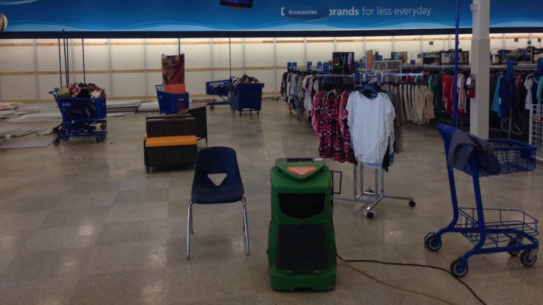 The inside of the Ross clothing store at Bakers Centre. (Neema Roshania Patel/WHYY)