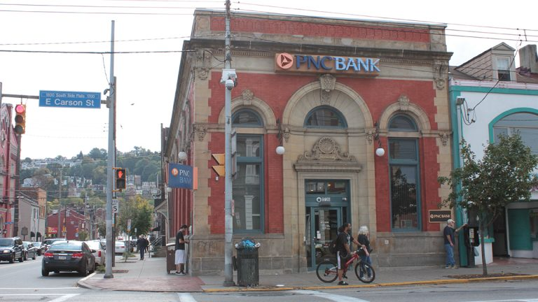 In Pennsylvania 4.7 percent of households don't have access to a traditional bank. Another 18.8 percent of households rely on alternative financial services such as check cashing or payday lending to manage their money. (Margaret J. Krauss/90.5 WESA)