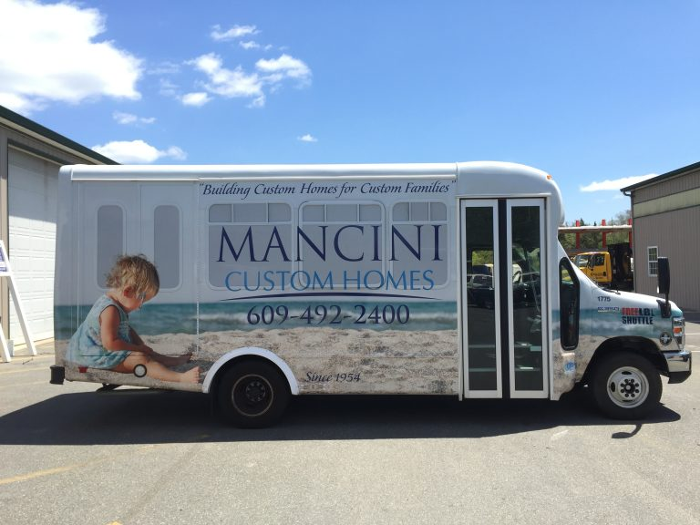 One of the shuttles that will run through LBI. (Photo courtesy of Ted Mitchell/Coastal Sign & Design)