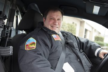 Homer City Police Chief, Louis Sacco, is one of just three people in the borough's police pension plan. The borough pays high administrative fees for the plan's management. (Irina Zhorov/WESA)