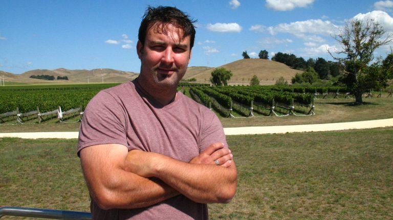 Daniel Brennan, winemaker at Decibel Wines in New Zealand (Image courtesy of Brennan)
