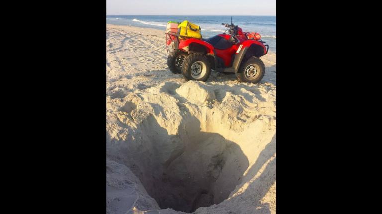 (Image courtesy of the Harvey Cedars Beach Patrol)