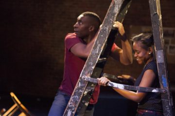 JaBen Early and Aimé Donna Kelly  in InterAct Theatre Company's production of