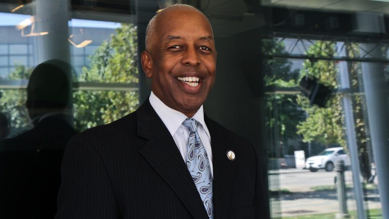 Trenton Mayor Eric Jackson says there is a 'buzz' among residents over his new administration. (Kimberly Paynter/WHYY)