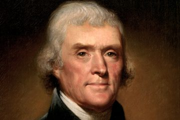 After leaving the White House Thomas Jefferson had to sell his 6,000-volume book collection to the government—forming the core of the Library of Congress—to pay off his creditors;