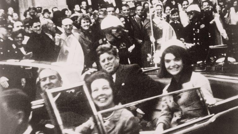John F. Kennedy motorcade, Dallas, Texas, Nov. 22, 1963.  (Victor H. King/Library of Congress Prints and Photographs Division)