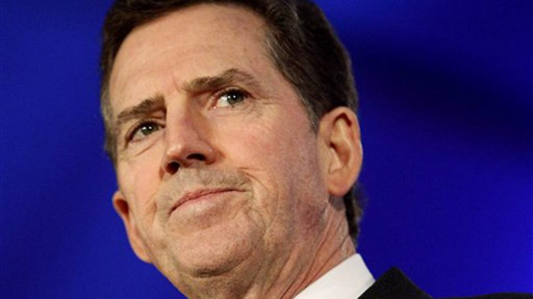 On Thursday, Dec. 6, 2012, former Sen. Jim DeMint announced  that he was resigning to take over at Heritage Foundation. (AP Photo/Patrick Semansky, file)