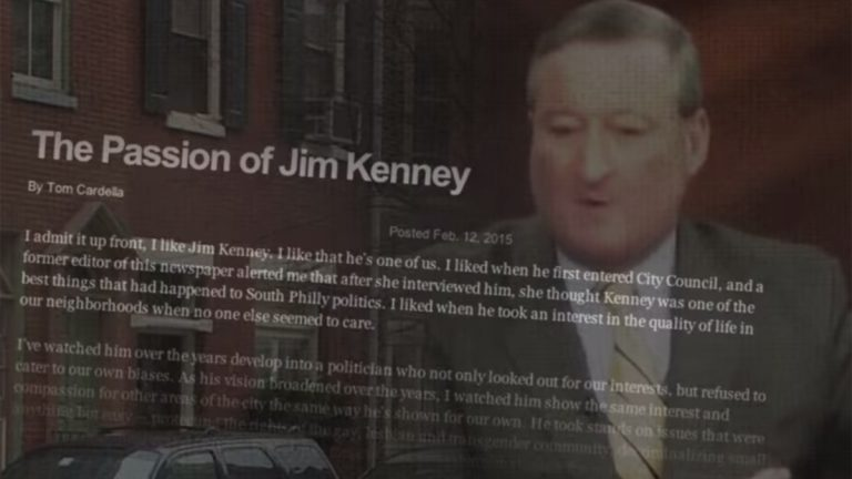 This Jim Kenney campaign ad was financed not by a candidate, but by
