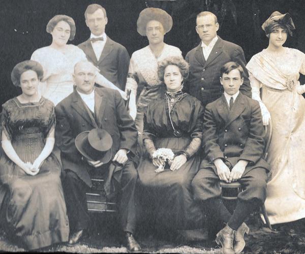 John Rose family