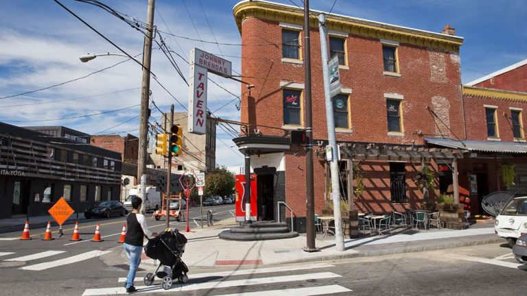 Johnny Brenda's is an iconic bar in Fishtown that represents the changing face of the neighborhood. (Lindsay Lazarsky/WHYY, file)