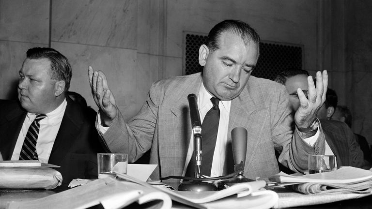 Image result for the u.s. senate voted to condemn senator joseph mccarthy