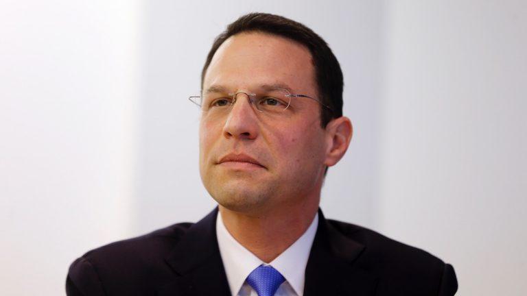 DemocratIc Montgomery County Commissioner Josh Shapiro will face Republican State Sen. John Rafferty in November. (AP FILE)