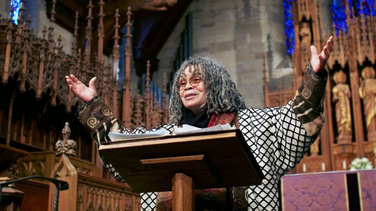 Head to the Penn Museum on Saturday for an afternoon with poet Sonia Sanchez. (Jana Shea/for NewsWorks, file)