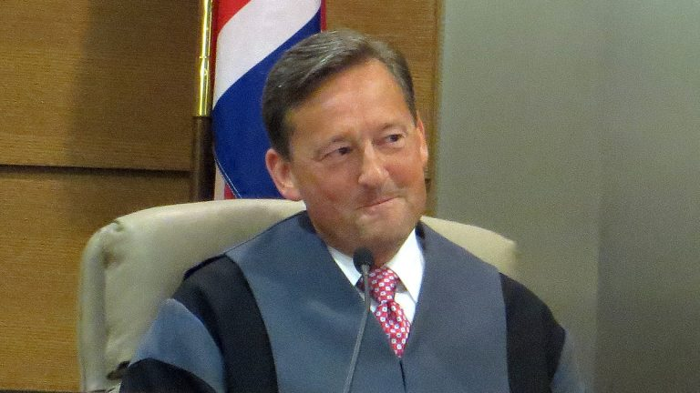 Honorable Andre G.Bouchard welcomes new role(Nichelle Polston/WHYY)