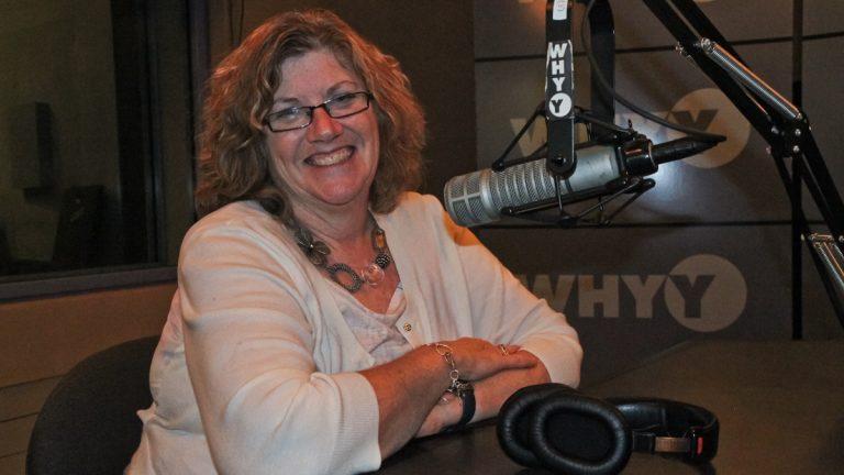 Philadelphia teacher Judy Willner, shown here in the WHYY studios, wrote a letter to Mayor Michael Nutter and Gov. Tom Corbett, saying