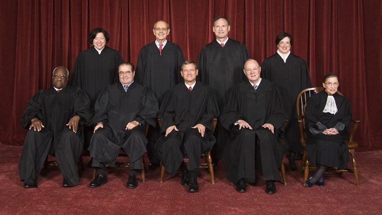 The nine justices of the Supreme Court will hear challenges Obamacare's subsidies next week. (Steve Petteway/from the Collection of the Supreme Court of the United States)