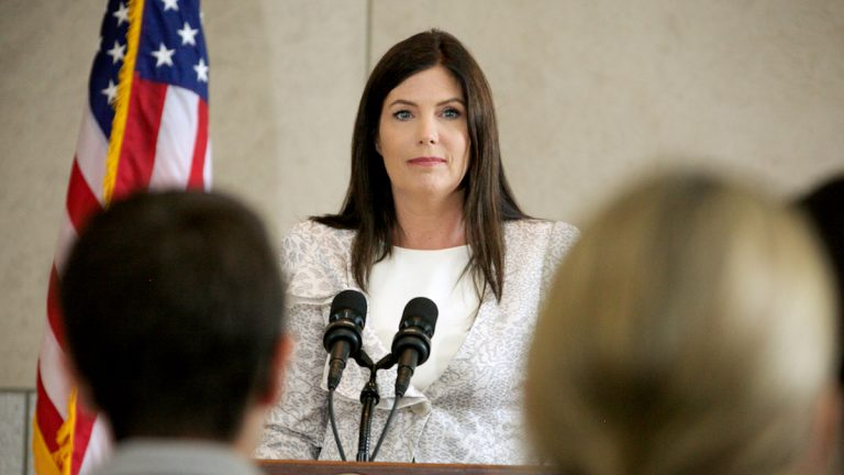 Pa. Attorney General Kathleen Kane supports same-sex marriage. (Nathaniel Hamilton/for NewsWorks, file)