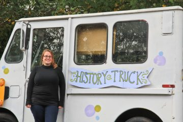 erin bernard created the history truck and aims to collect stories from city residents