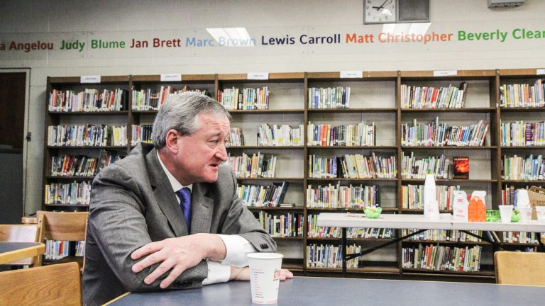 Former City Councilman Jim Kenney is one of six Democratic candidates for mayor running in the May primary. (Kimberly Paynter/WHYY)