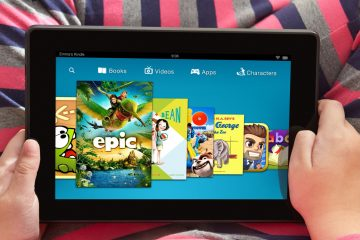 This undated photo provided by Amazon shows the Kindle FreeTime app displayed on a Kindle Fire HDX