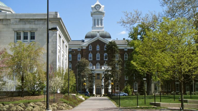 Pennsylvania's state-owned universities like Kutztown are being considered for mergers or closures. (Dough4872/Wikimedia Commons)