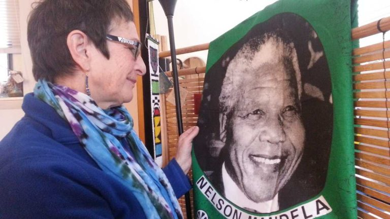 Check out Aaron Moselle's story on West Mt. Airy civic leader Marilyn Cohen's years working alongside Nelson Mandela. (Aaron Moselle/WHYY)