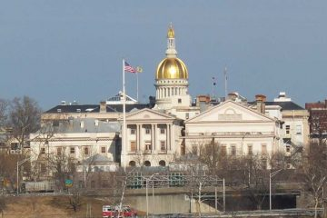 The State Capitol in Trenton, N.J. (Alan Tu/WHYY)