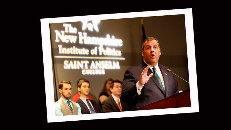 New Jersey Gov. Chris Christie, R-N.J. speaking in Manchester, N.H., Tuesday, April 14, 2015. (AP Photo/Jim Cole, file)