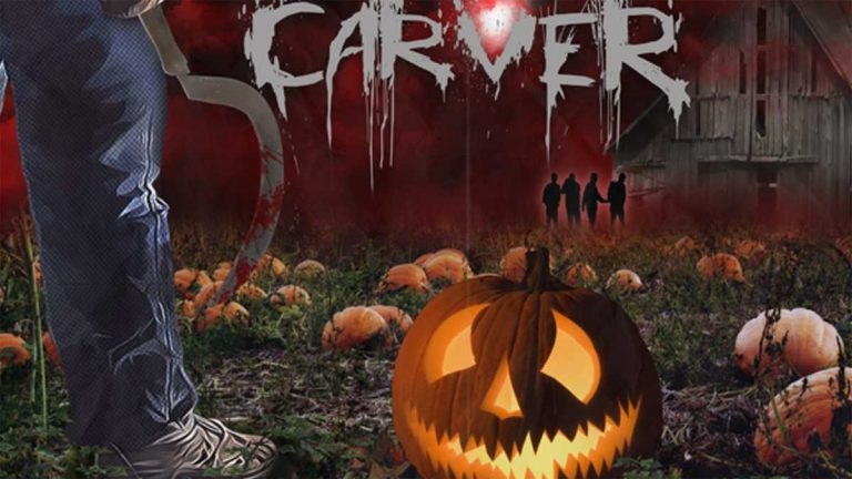 CARVER is a throwback, 80's style slasher film co-written and co-directed by 13 year old Emily DiPrimio. (Image via Kickstarter)