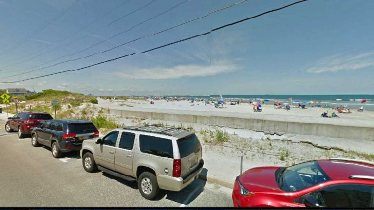 A view of the beach from 2nd and Ocean Avenues in North Wildwood
