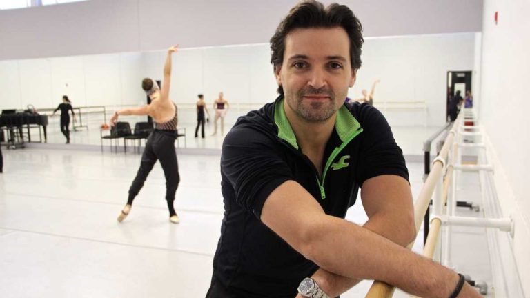 Pennsylvania Ballet Director Angel Corella (Emma Lee/WHYY)
