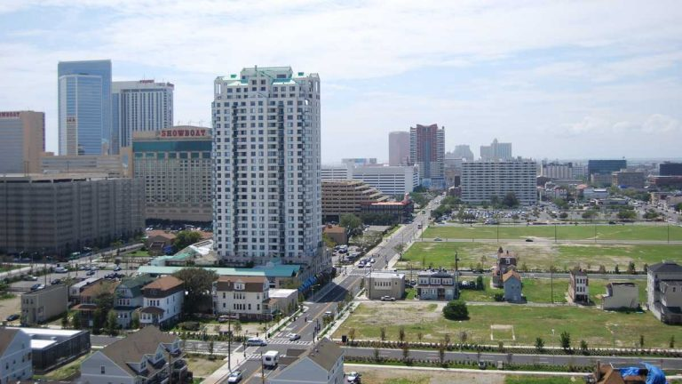 A view of Atlantic City