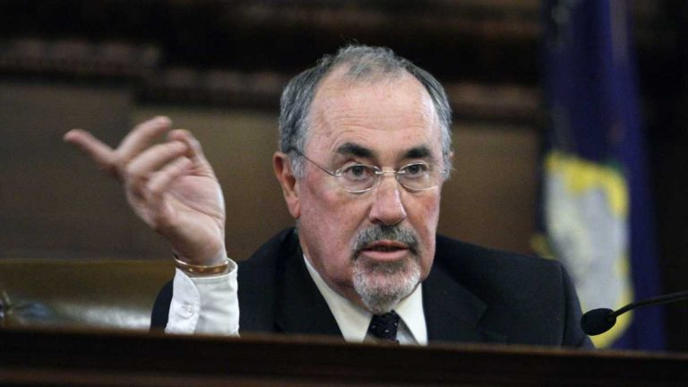 The chief counsel for the Pennsylvania Judicial Conduct Board is stepping aside from an investigation  Supreme Court Justice Michael Eakin's raunchy emails after a newspaper reported he played a lead role in Eakin's 2011 re-election campaign. (AP file photo)
