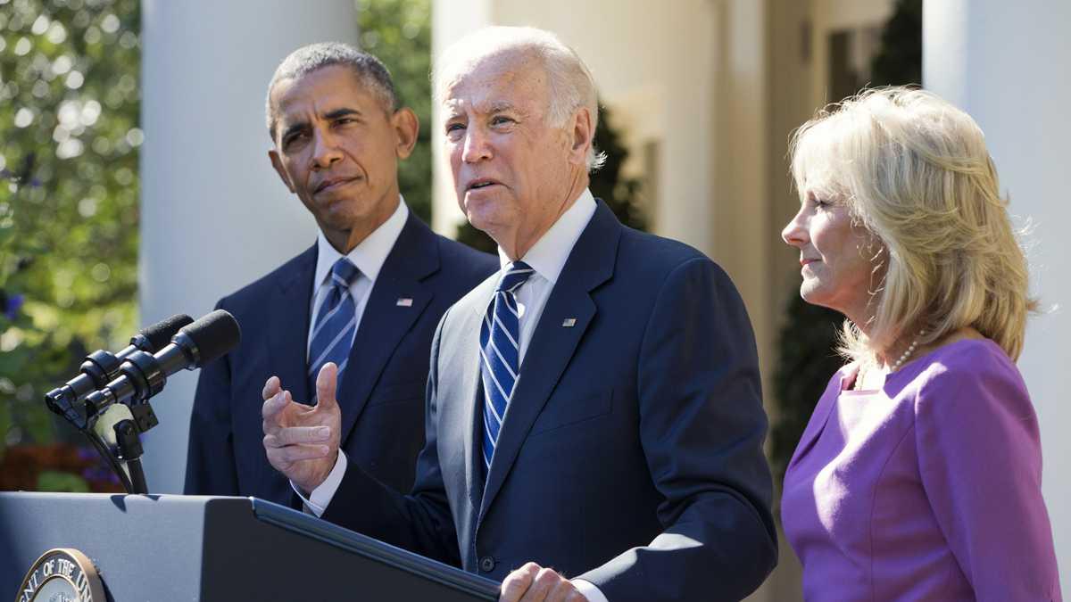 Biden won't run