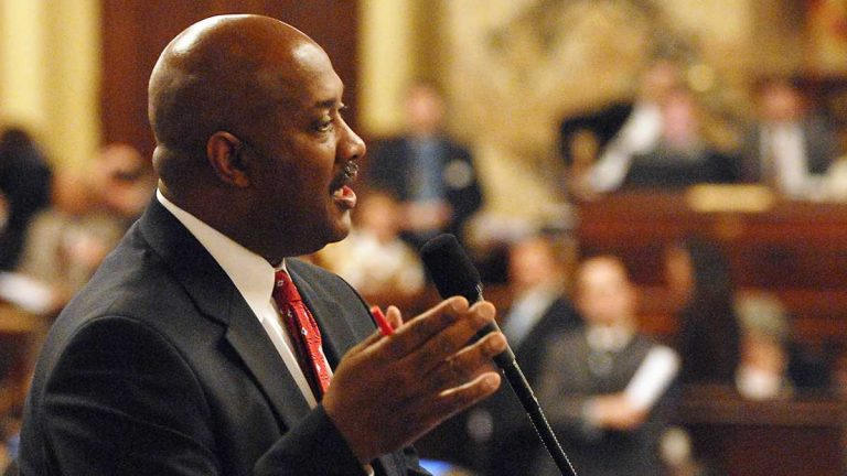 State Rep. Dwight Evans intends to challenge U.S. Rep. Chaka Fattah in the April Democratic primary. (AP file photo)