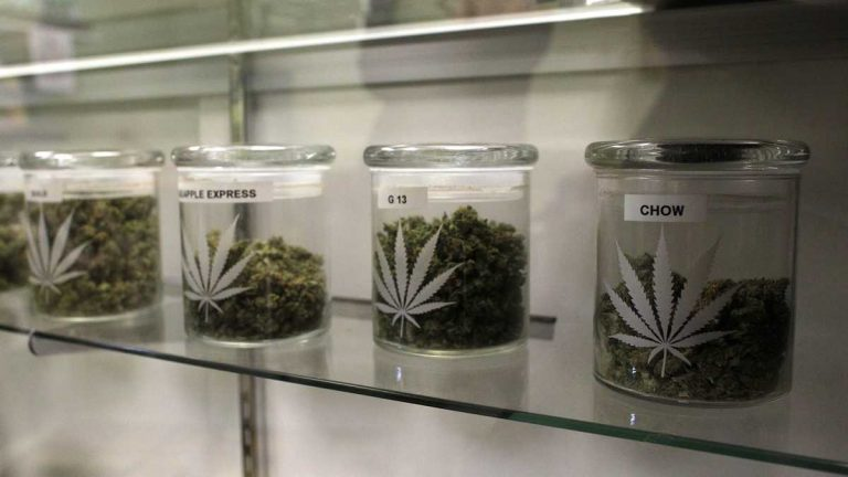 Starting in late summer, medical marijuana patients in Pennsylvania will be able to get marijuana in its dry leaf form — but will technically be limited to using it only in a vaporizer. (Brennan Linsley/AP Photo)