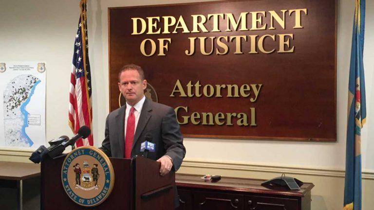 Attorney General Matt Denn (Zoe Read/WHYY)