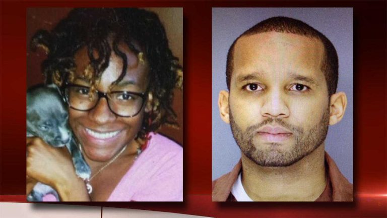 Delvin Barnes (right) pleaded guilty Thursday to kidnapping Carlesha Freeland-Gaither off a Germantown street in Nov. 2014. (NewsWorks, file art)