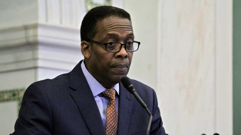 Philadelphia City Council President Darrell Clarke says a 3-cent-per-ounce tax on drinks is too high. (NewsWorks file photo)
