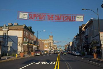 Coatesville, a small city in Chester county sold its water and sewer utilities for $48 million to the Pennsylvania American Water Company in 2001. After the sale and a three year rate freeze expired, combined bills increased an average of more than 200 percent. (Lindsay Lazarski/WHYY)