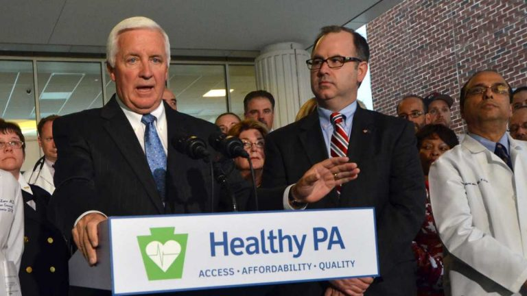 Pennsylvania officials have finished dismantling Healthy PA, a Medicaid alternative championed by former Gov. Tom Corbett. (AP file photo)