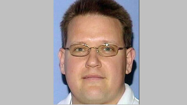 David Matusiewicz is accused of aiding and abetting in the death of his ex wife Christine Belford.