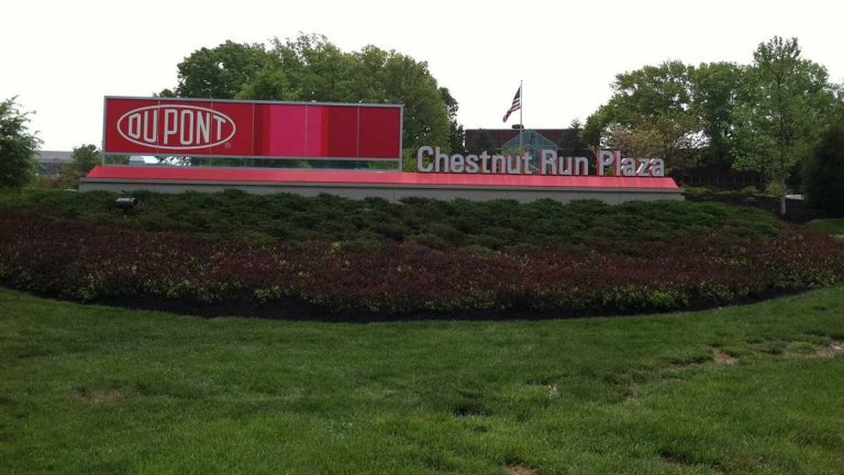 DuPont moved its corporate headquarters out of downtown Wilmington and into Chestnut Run Plaza in New Castle County in December 2014. (photo courtesy DuPont)