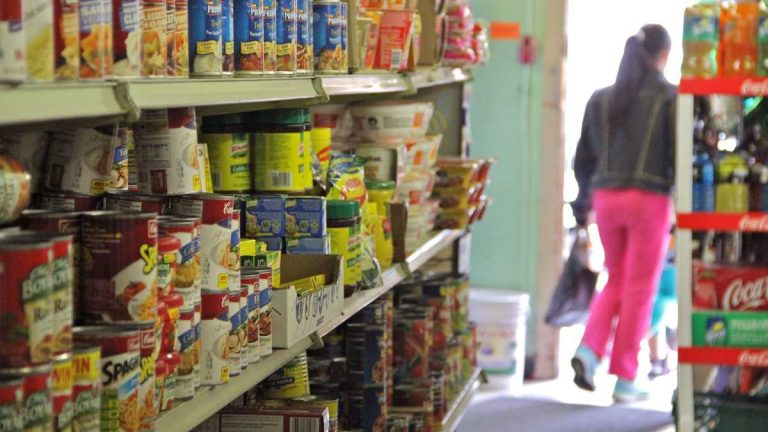 Convenience stores like Gabriel's Market in South Philadelphia could suffer because of a 5 percent cut in food stamps. Roughly one in three Philadelphians receive food stamps. (Emma Lee/for NewsWorks)