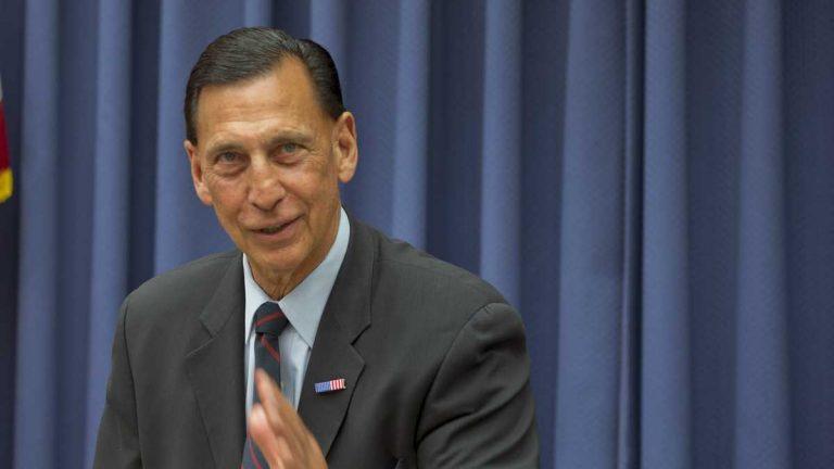 U.S. Rep. Frank LoBiondo, R-N.J., is shown in this February 2013 photo in Washington, D.C. (AP Photo/Carolyn Kaster, file).