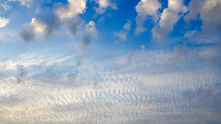 Sky over South Seaside Park. (Photo: Justin Auciello/for NewsWorks)